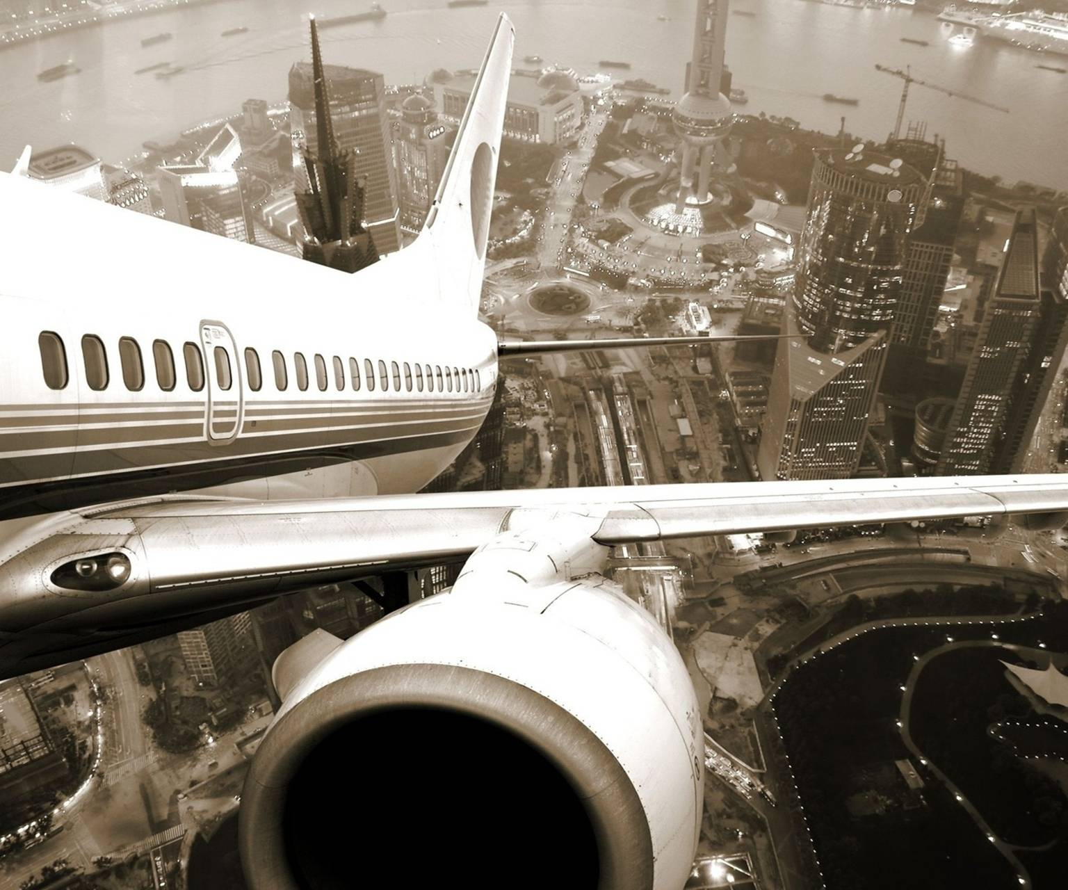 aircraft taking of