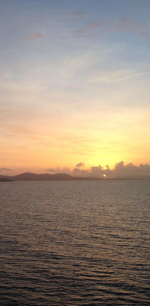 Saint Thomas Sunrise