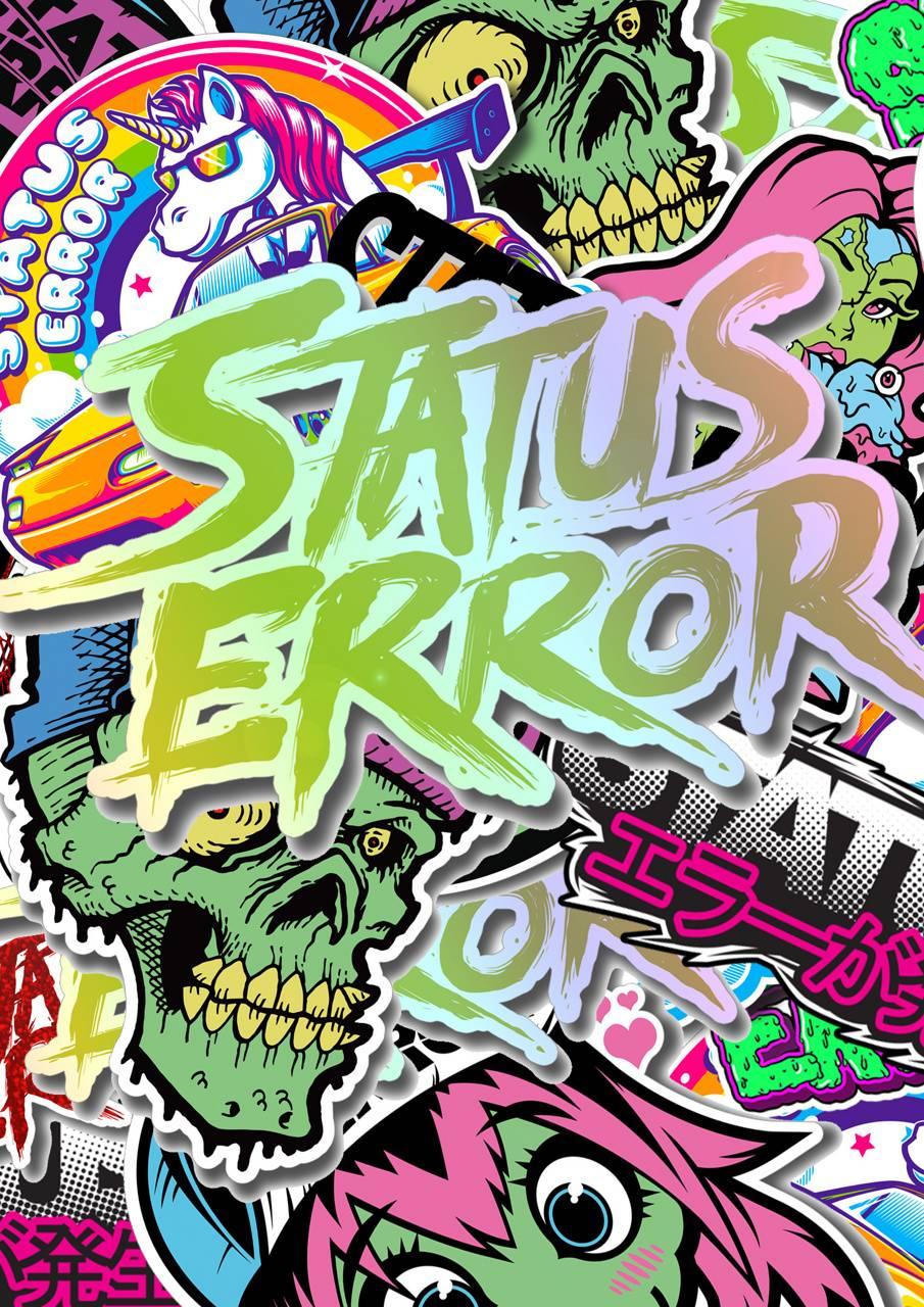 Status Error sticker