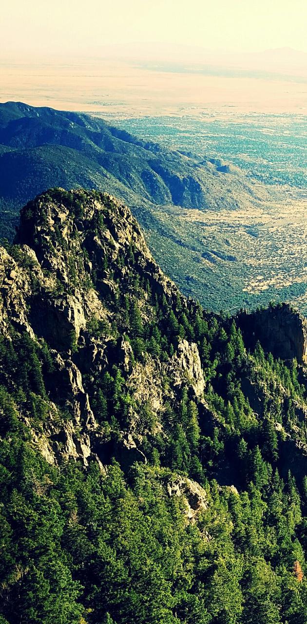 Sandia Peak View