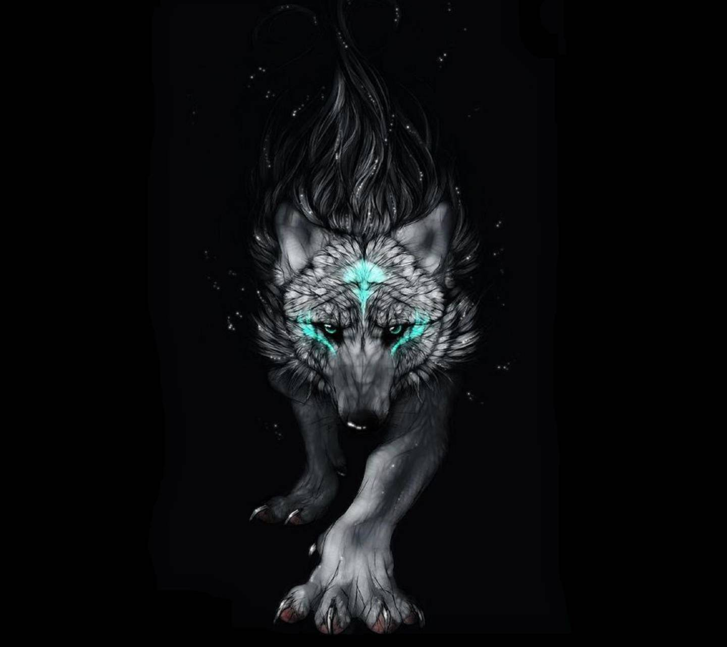 Blue Wolf Wallpaper By Undeadangel177148 Cc Free On Zedge