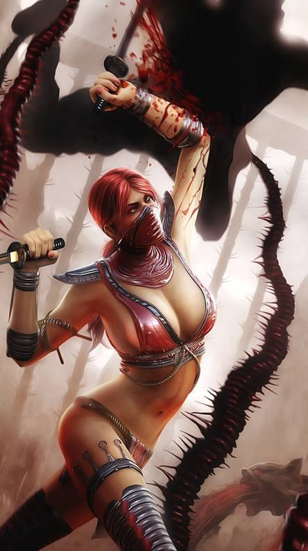 Image result for Skarlet Mortal Kombat wallpaper