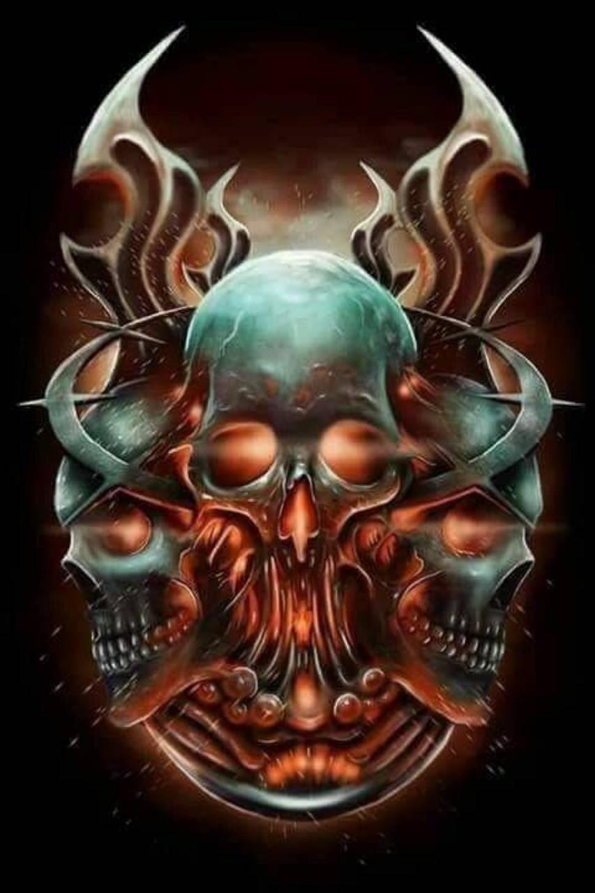 Knife n Skull