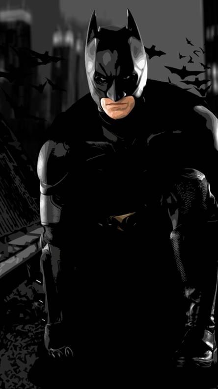 Batman Crouching