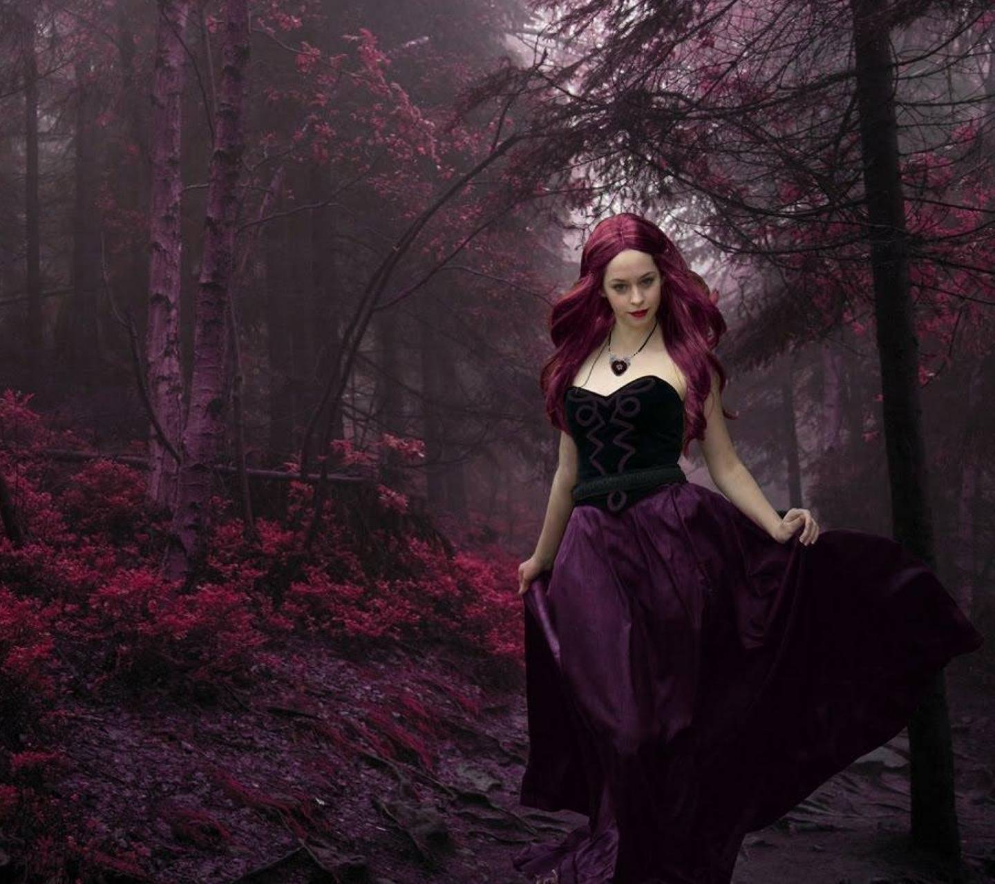 Gothic Forest Lady