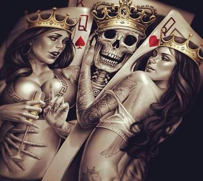 Queen Skull