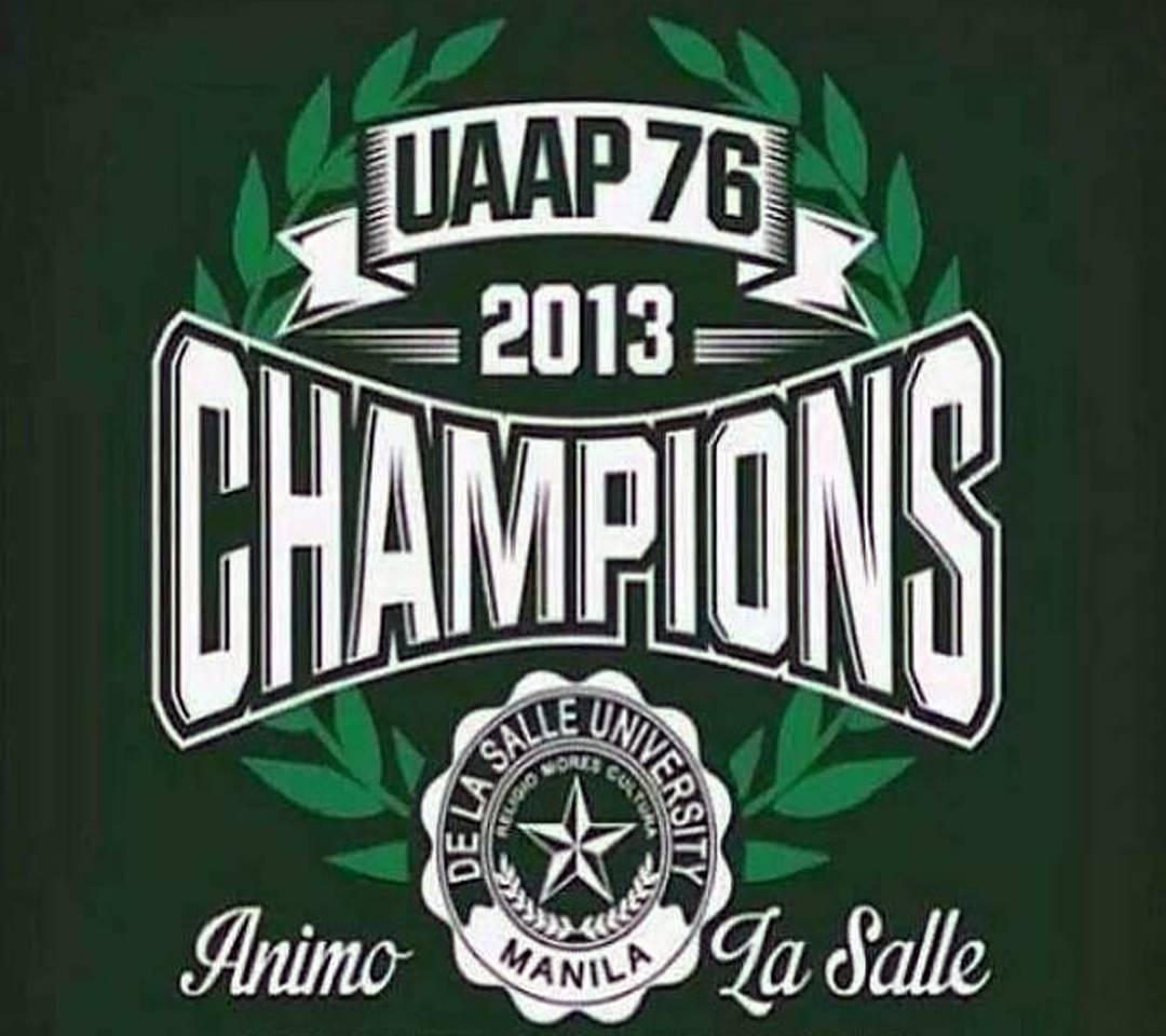 UAAP CHAMPIONS Wallpaper By Dext013