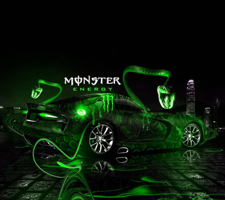 Dodge monster energy