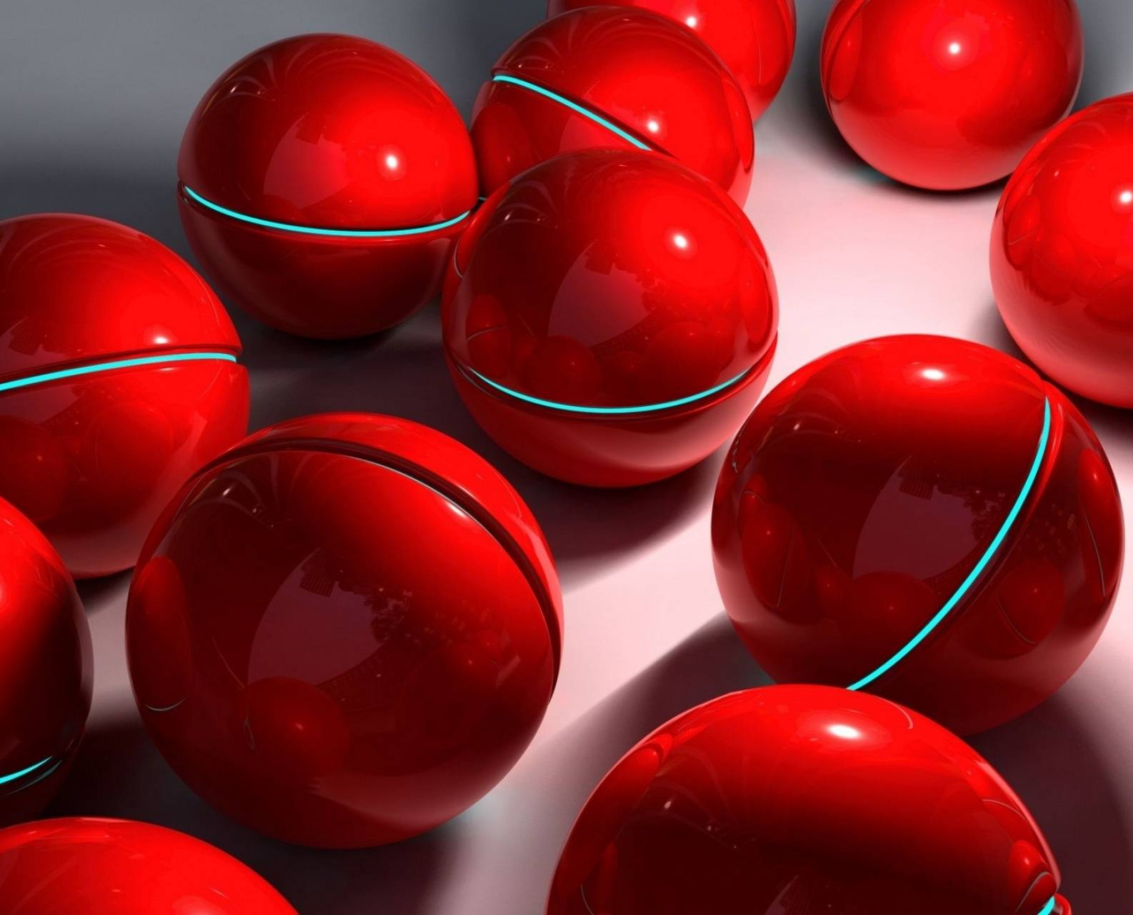 Red Sphere Ball