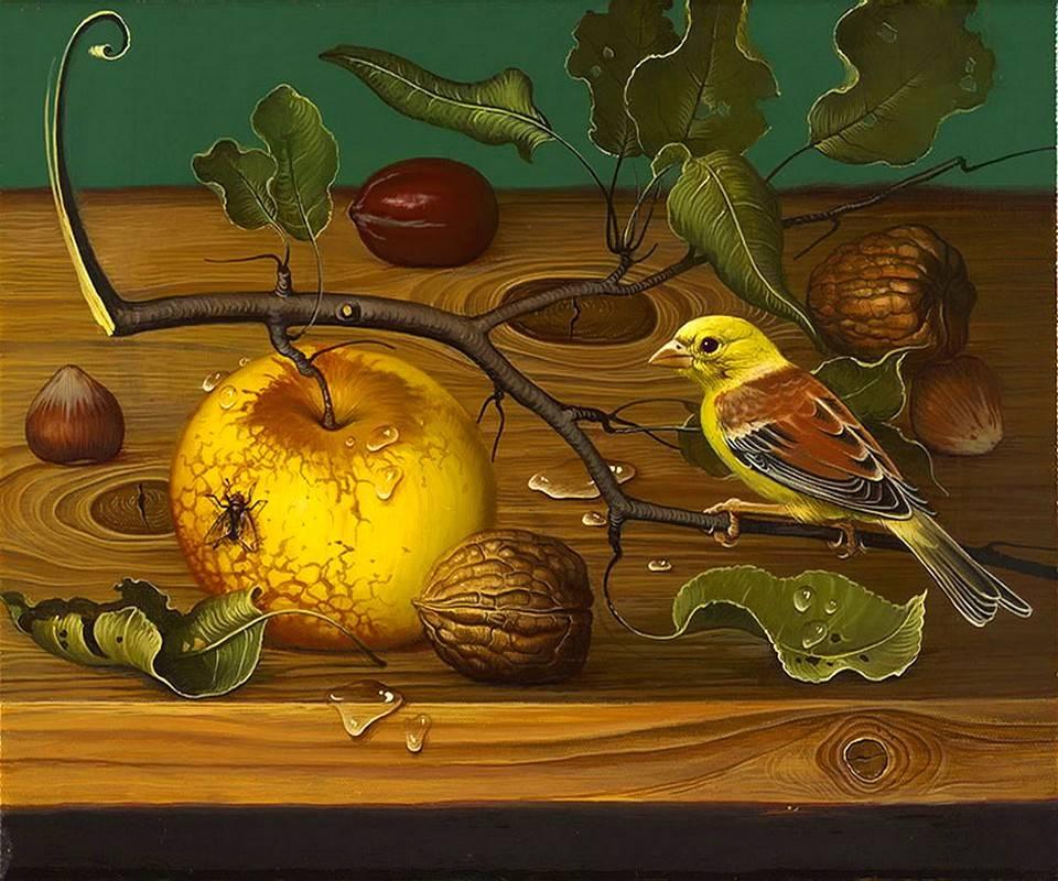 Bird And Fruit