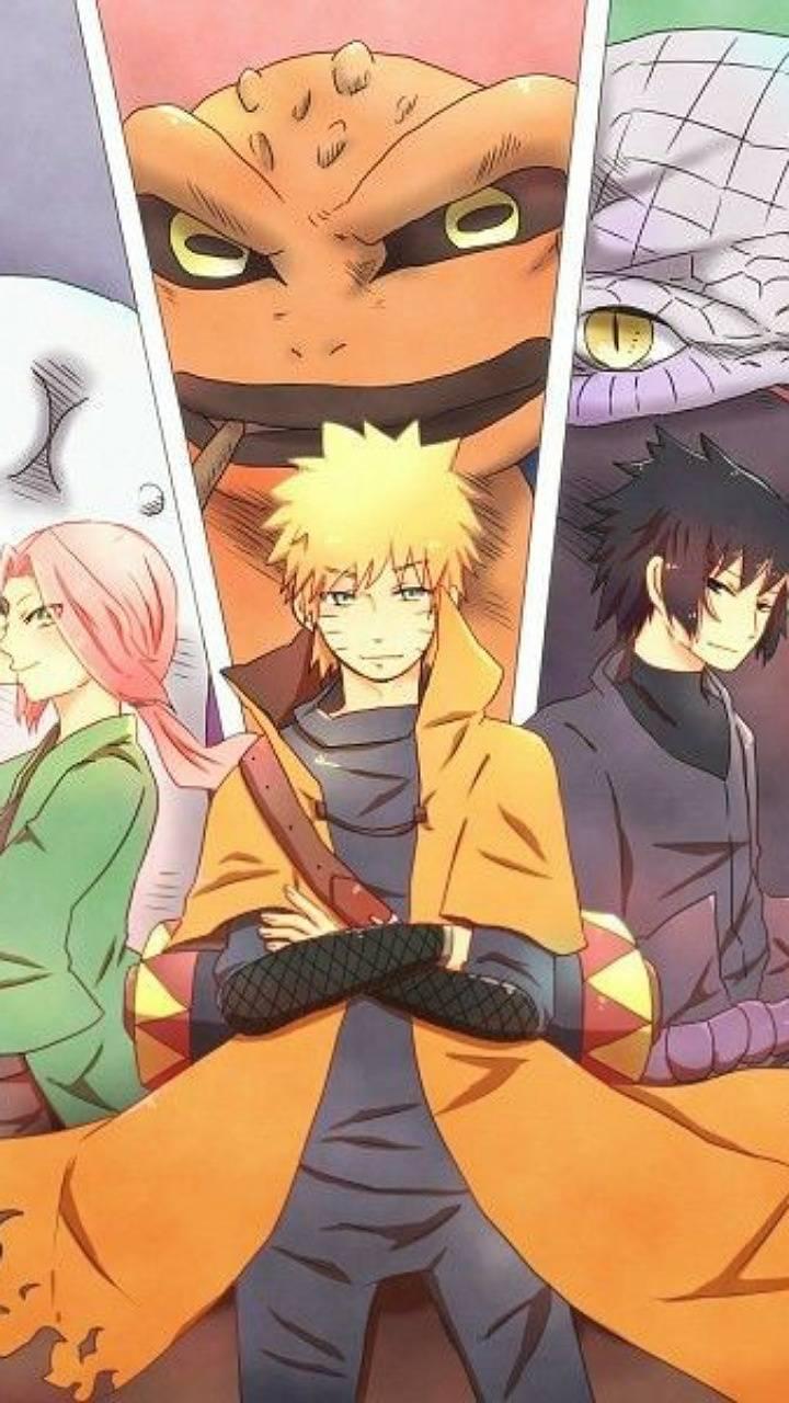 Naruto equipo 7