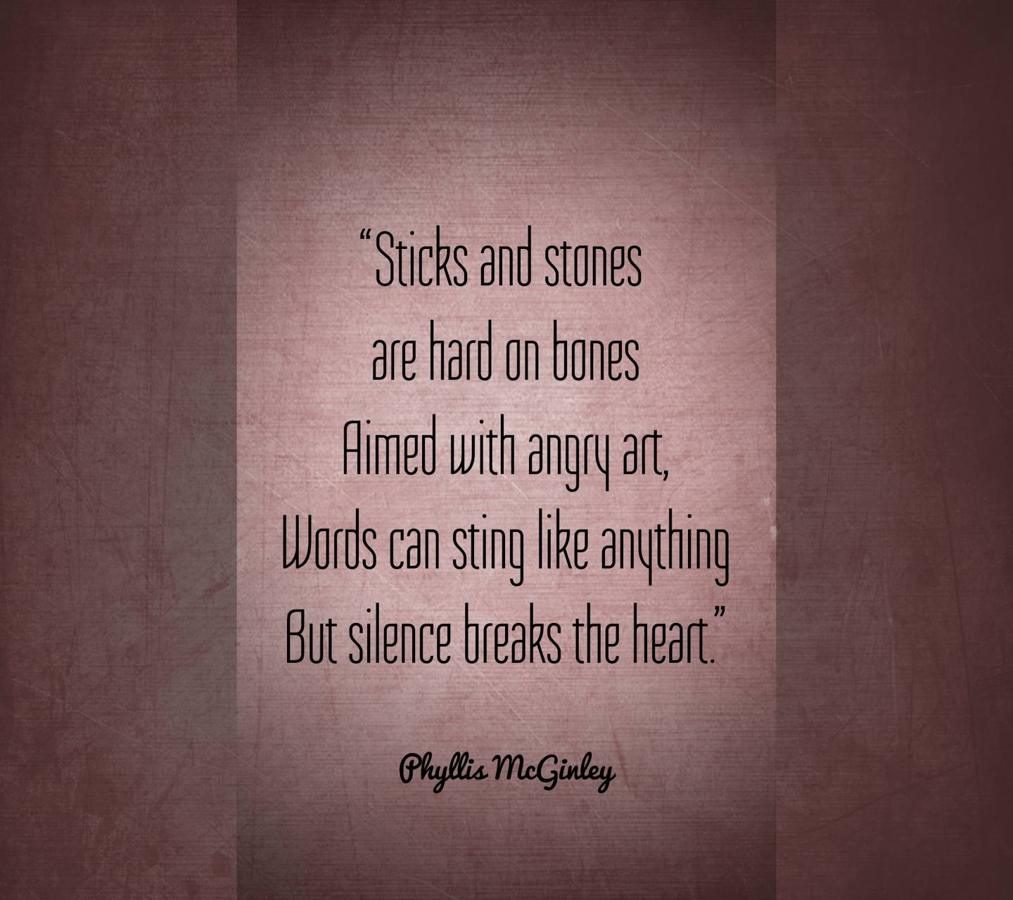 Silence Breaks Heart