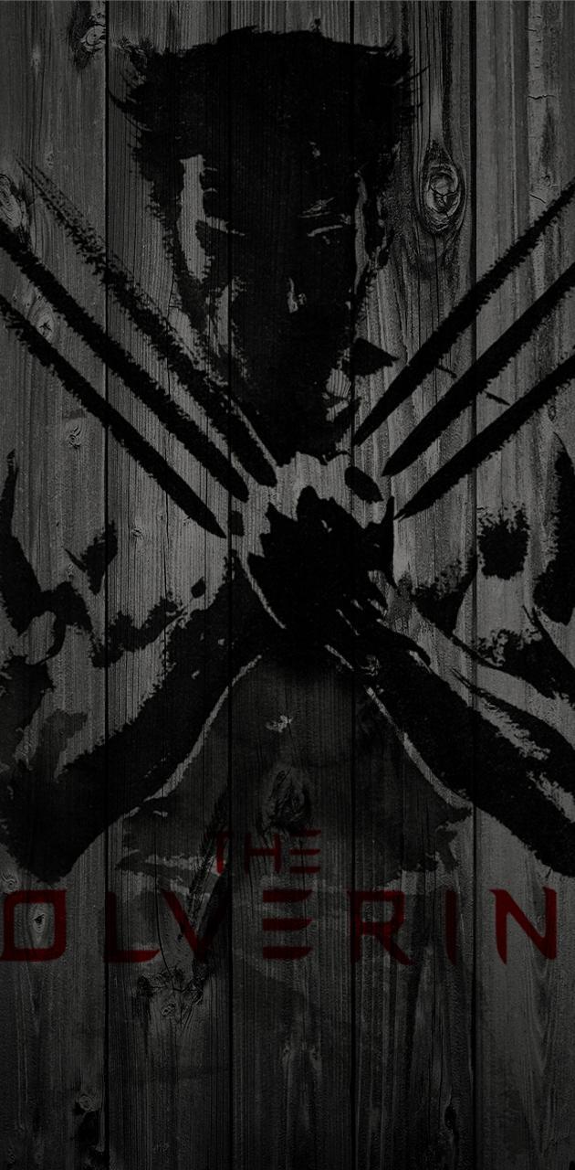 X-men Wolverine Wood