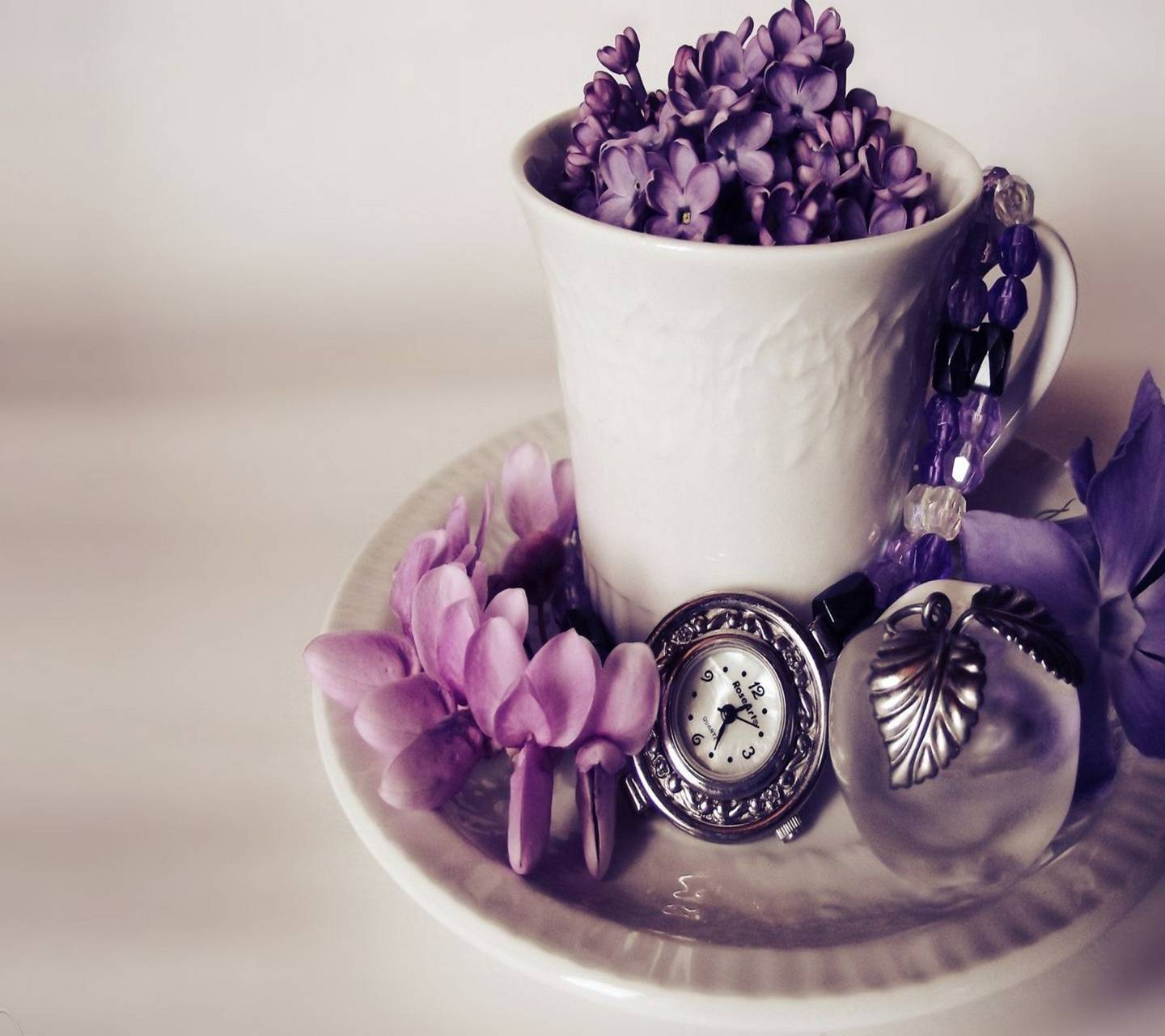 purple love gift