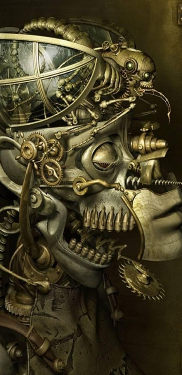 Steampunkskull