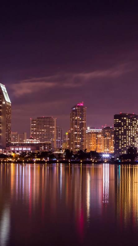 City at Nightfall