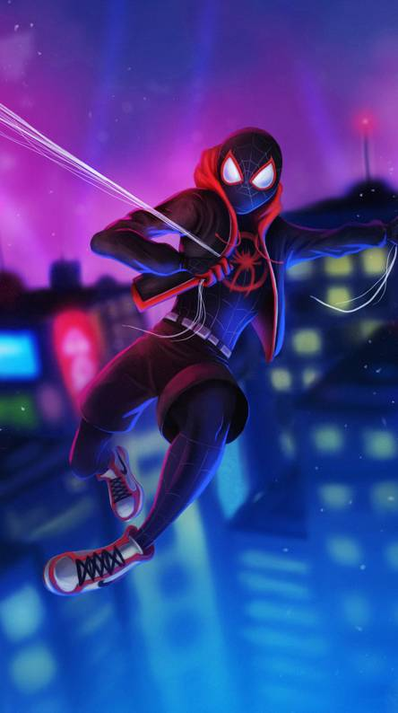 Cartoon Spider-Man