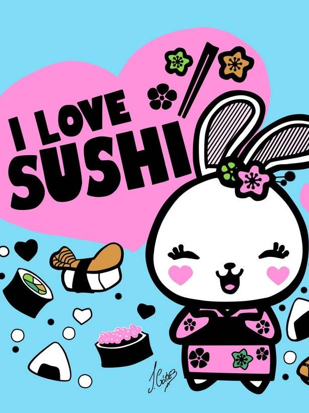 Cute Sushi Wallpaper By Empresmish F2 Free On Zedge