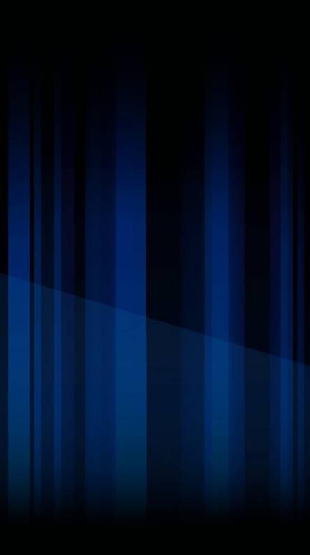 Glared Blue Vertical