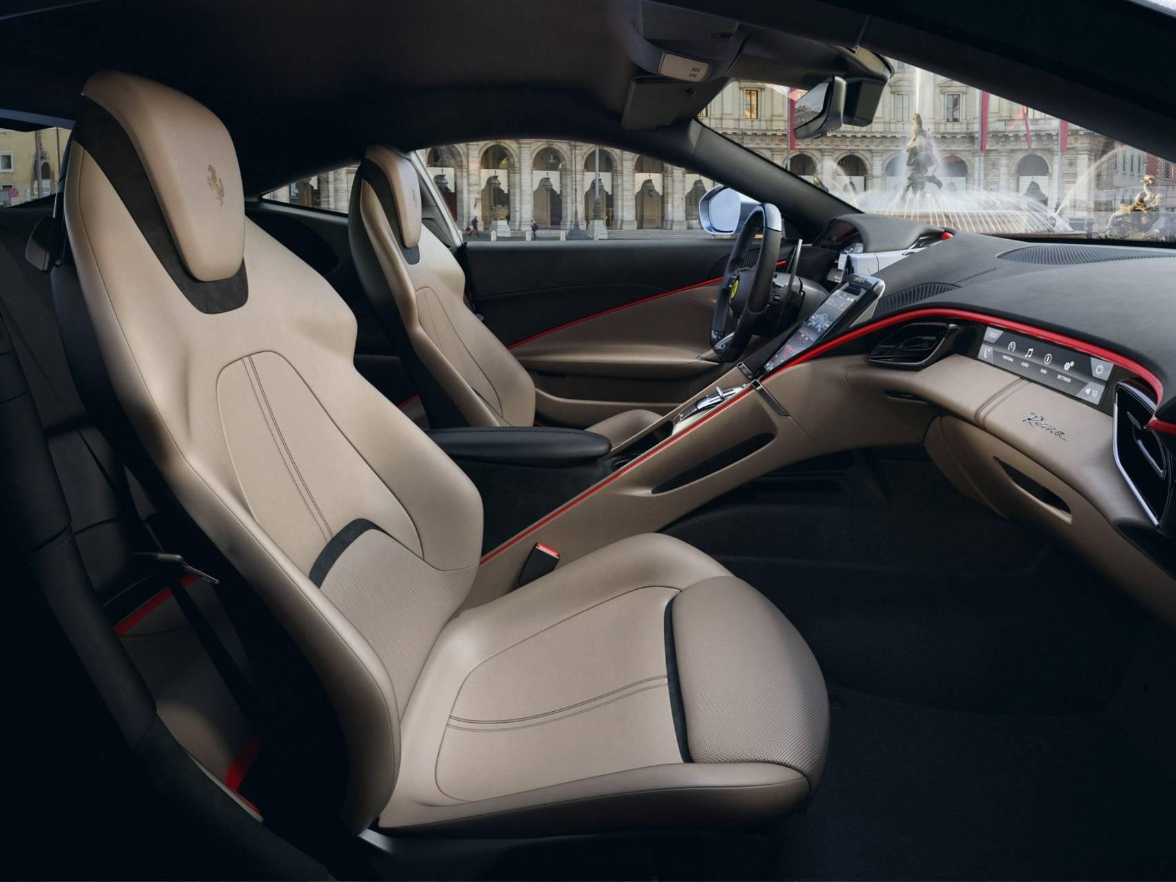 FerrariRoma Interior