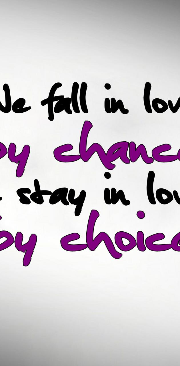 chances and choices