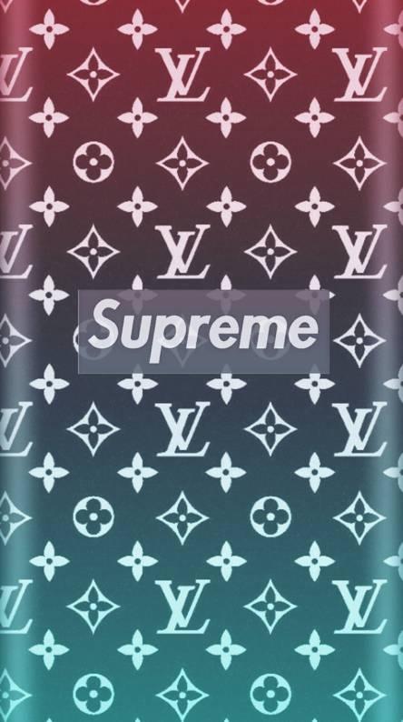 Supreme Lv Logo Wallpaper