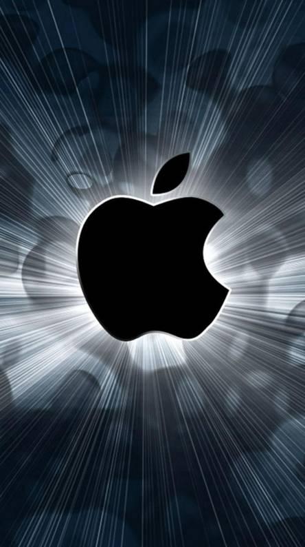 Vivid Apple Logo