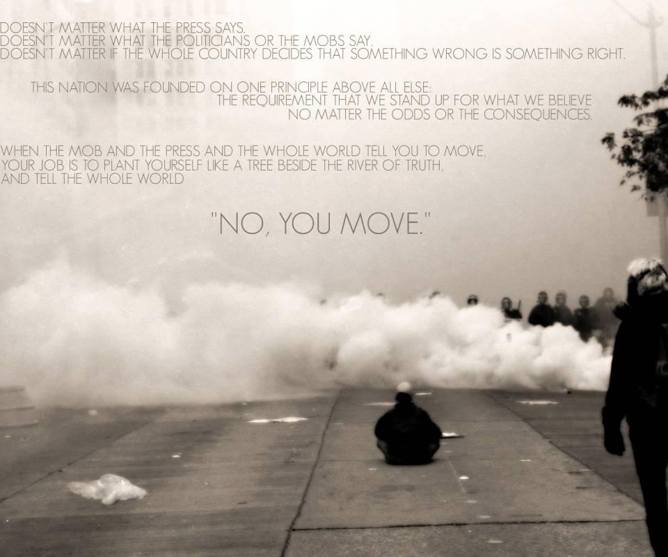 No You Move