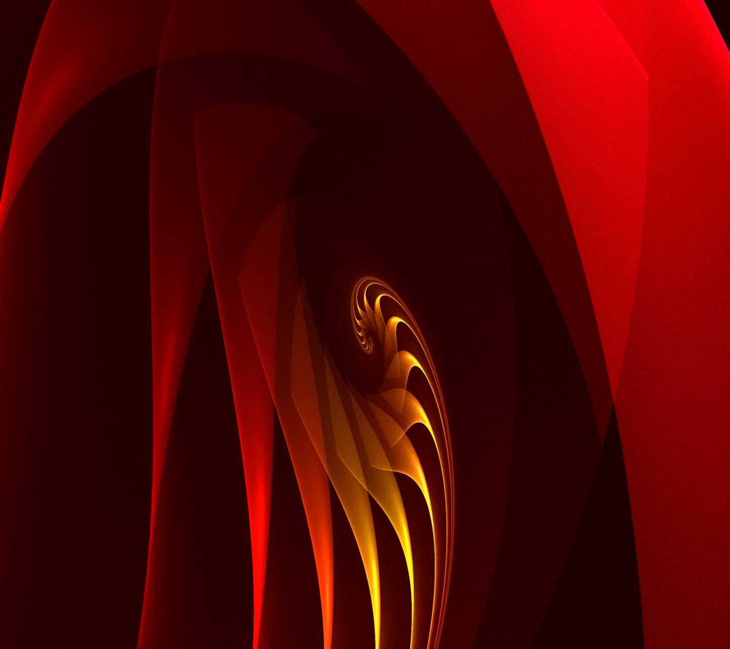 Spiral Shell-red