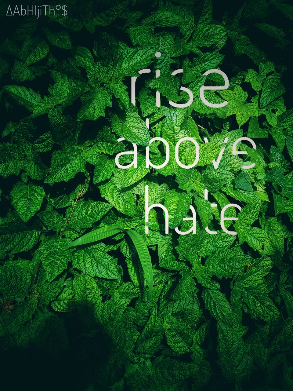 The rise above hate