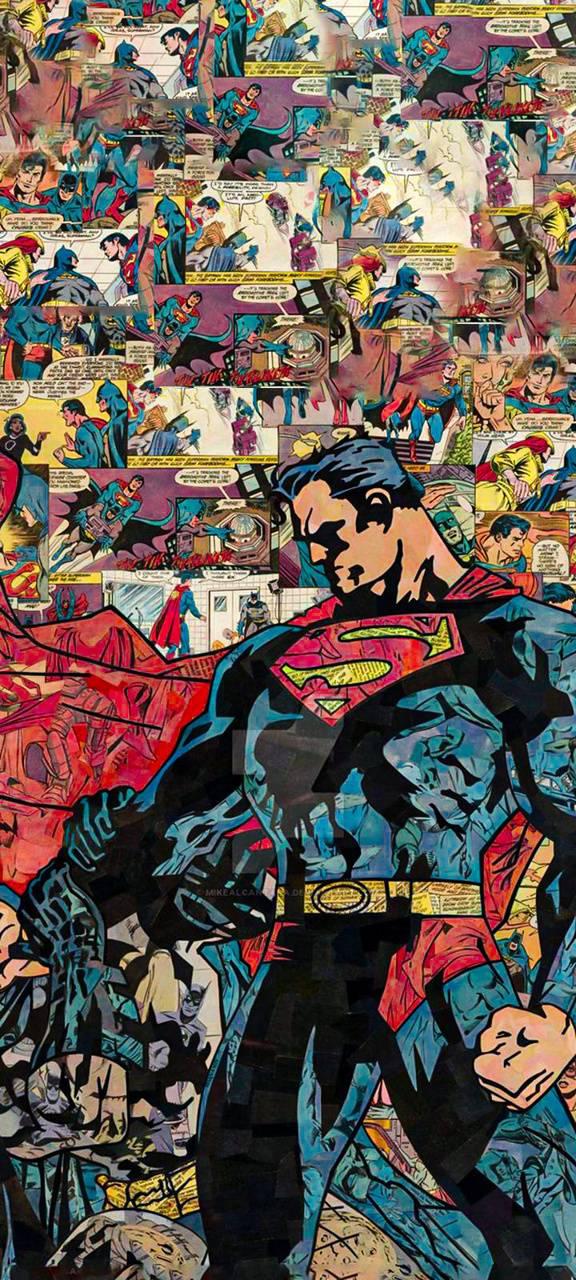 Super Man Comic