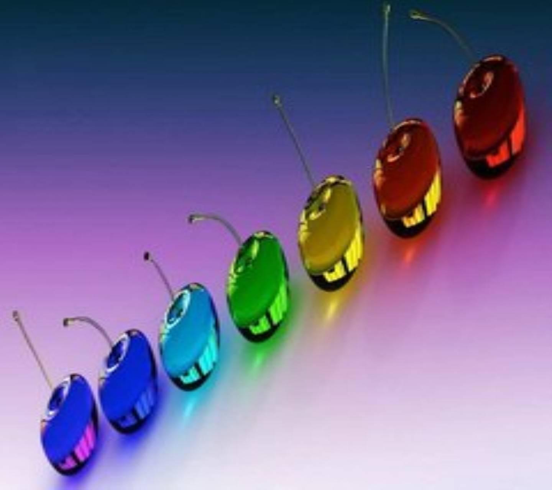 Colourful Cherries