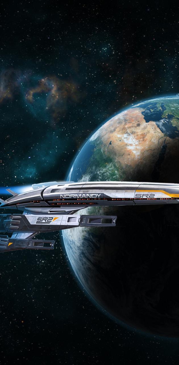 Spaceship Normandy