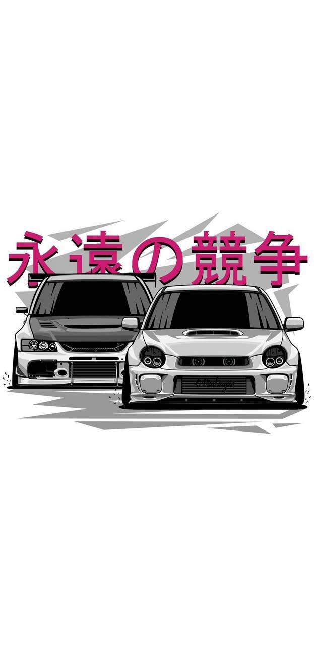 Subaru Drawing