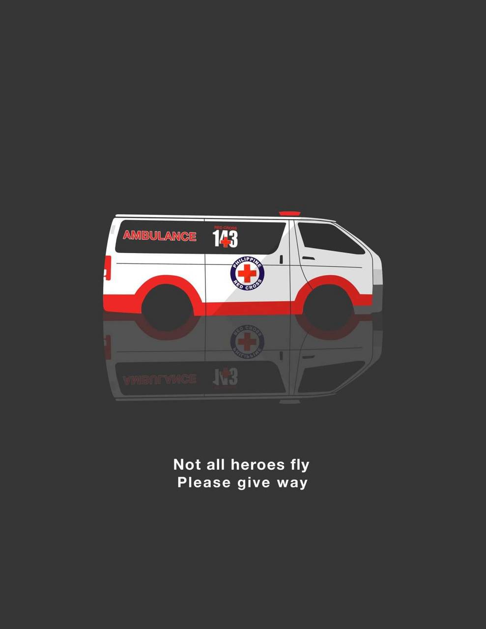 Not all heroes fly