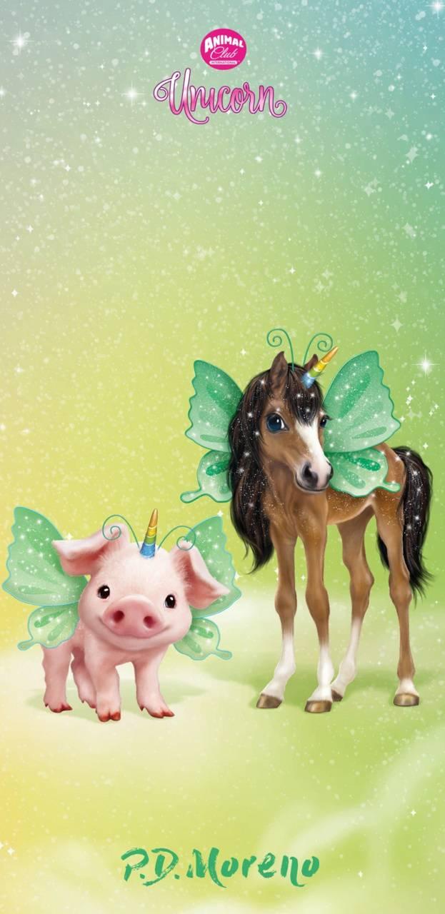 Cute Unicorn Farm