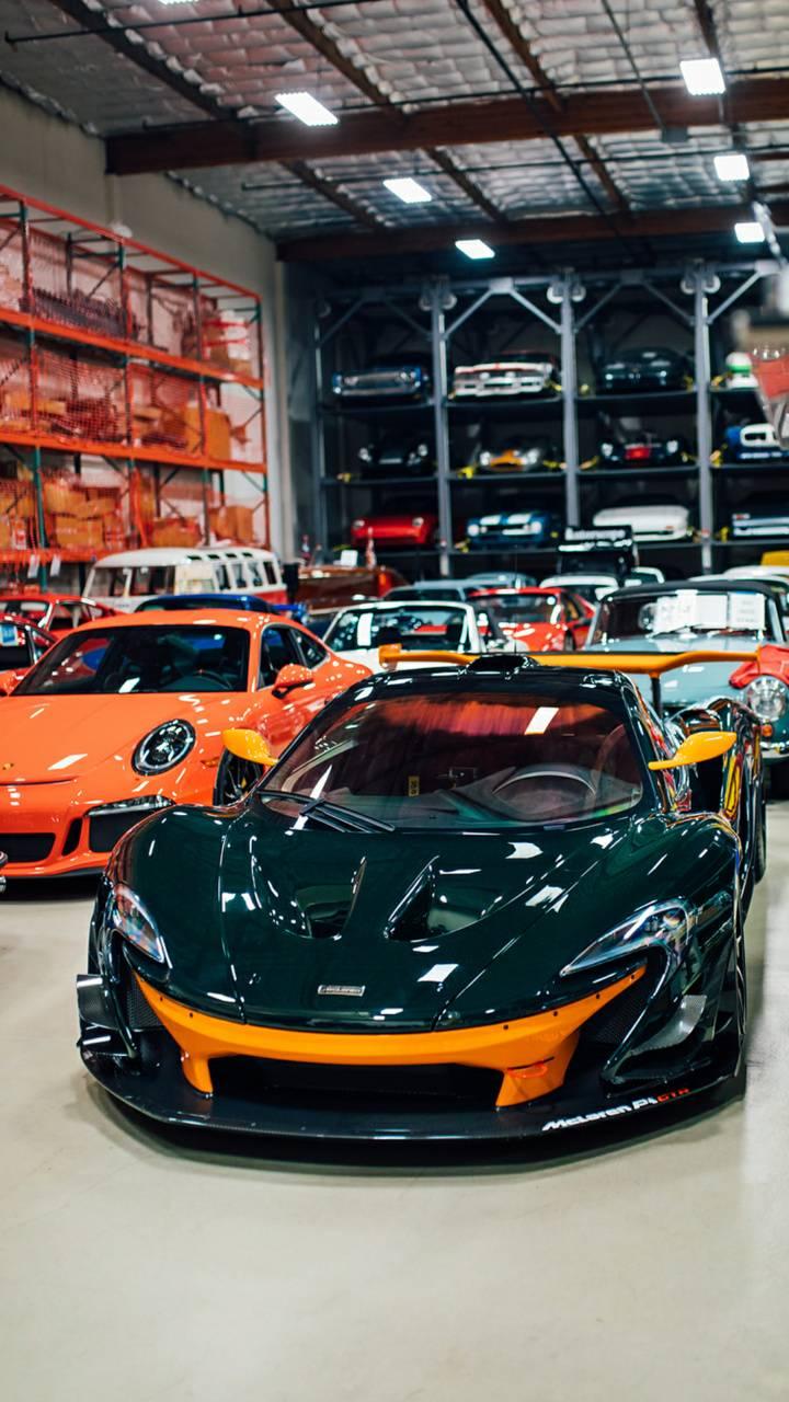 Billionaires garage