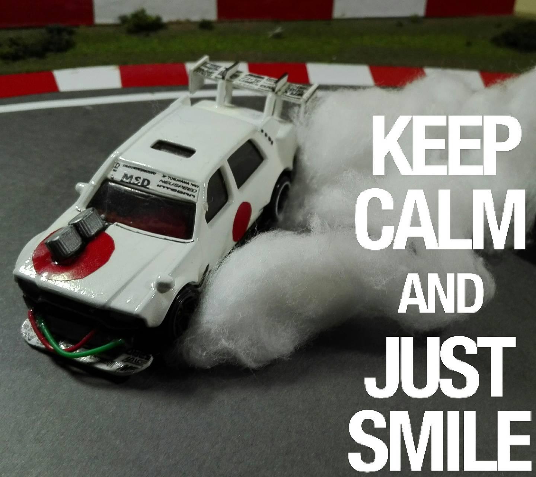 Toy car drift