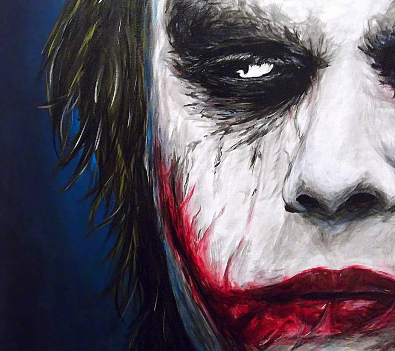 Joker Painted