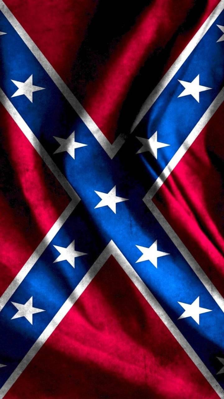 Waving Southern Flag