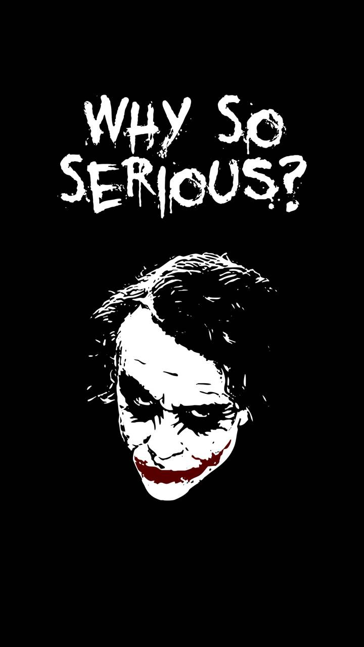 why so serious wallpaper by FaiziCreation - d8 - Free on