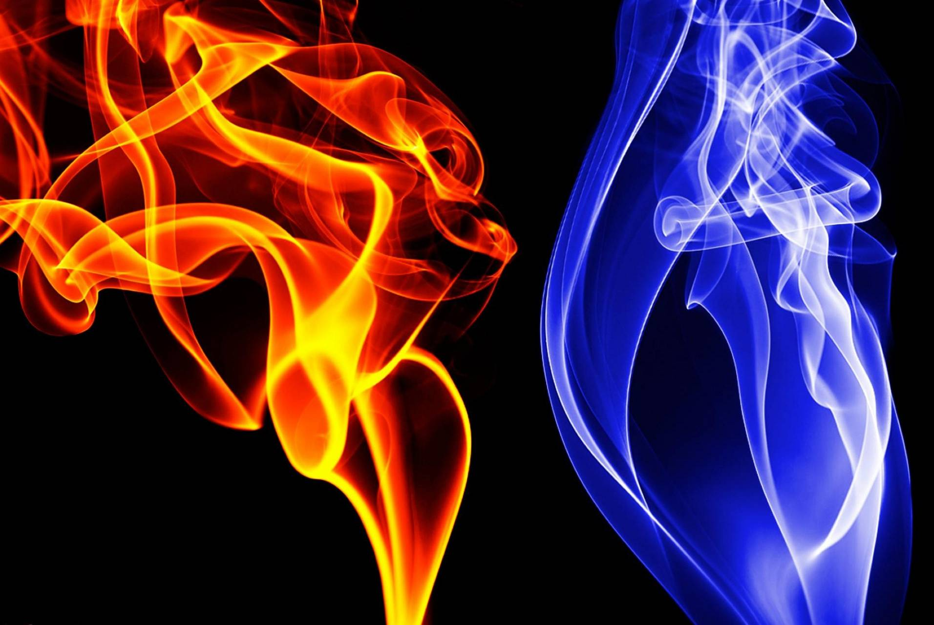 Fire Smoke Ice
