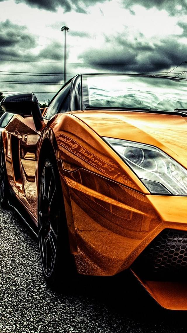 Gold Lamborghini Wallpaper By Alee