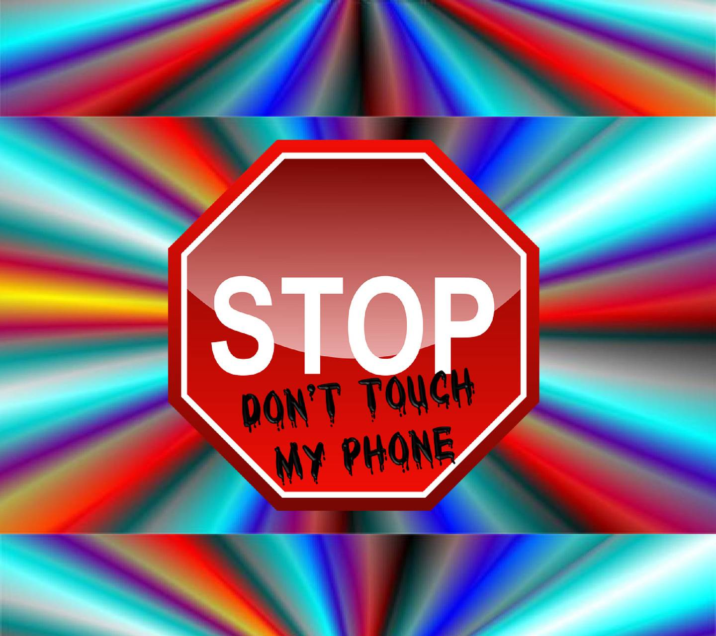 STOP dont touch