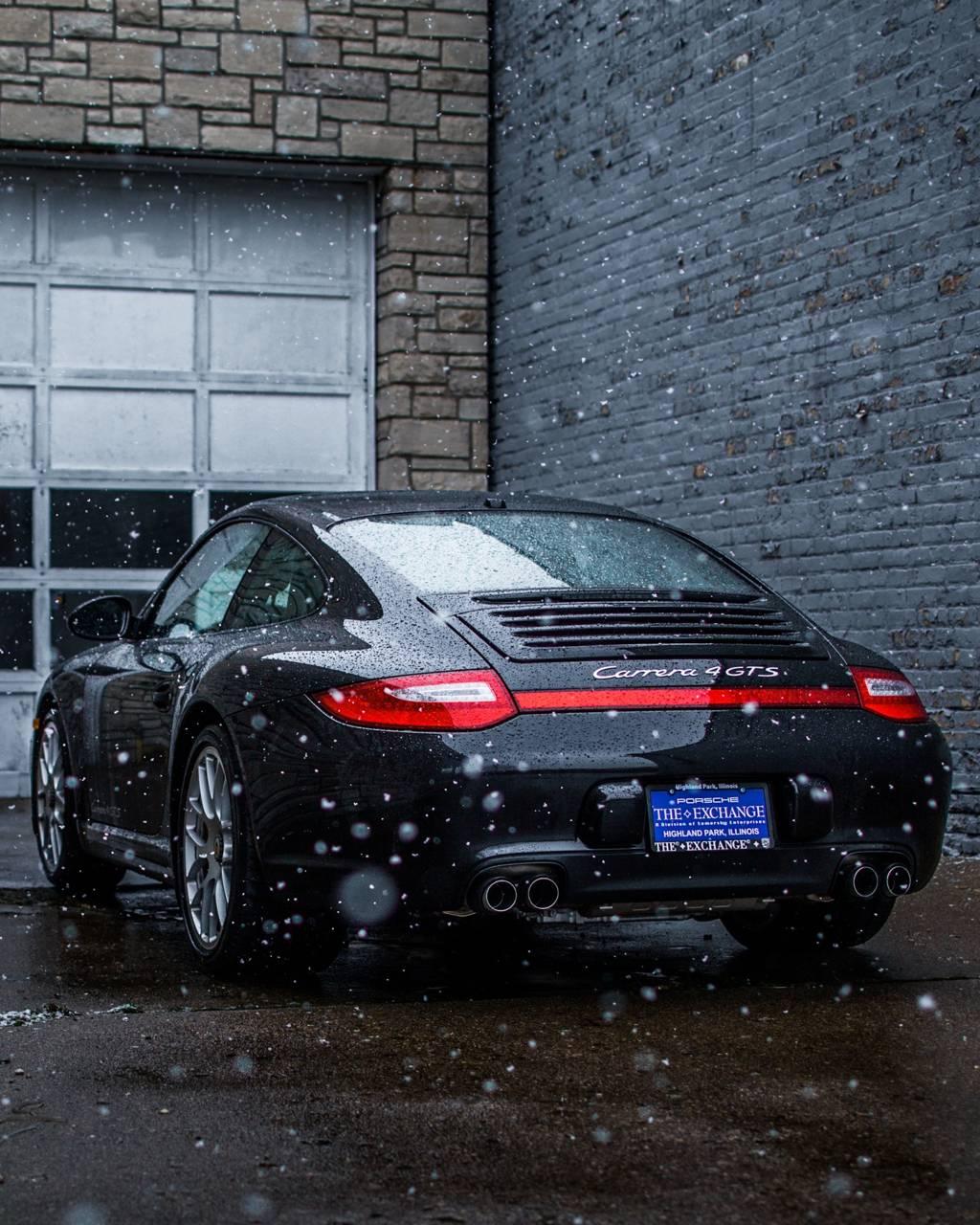 Porsche Snow
