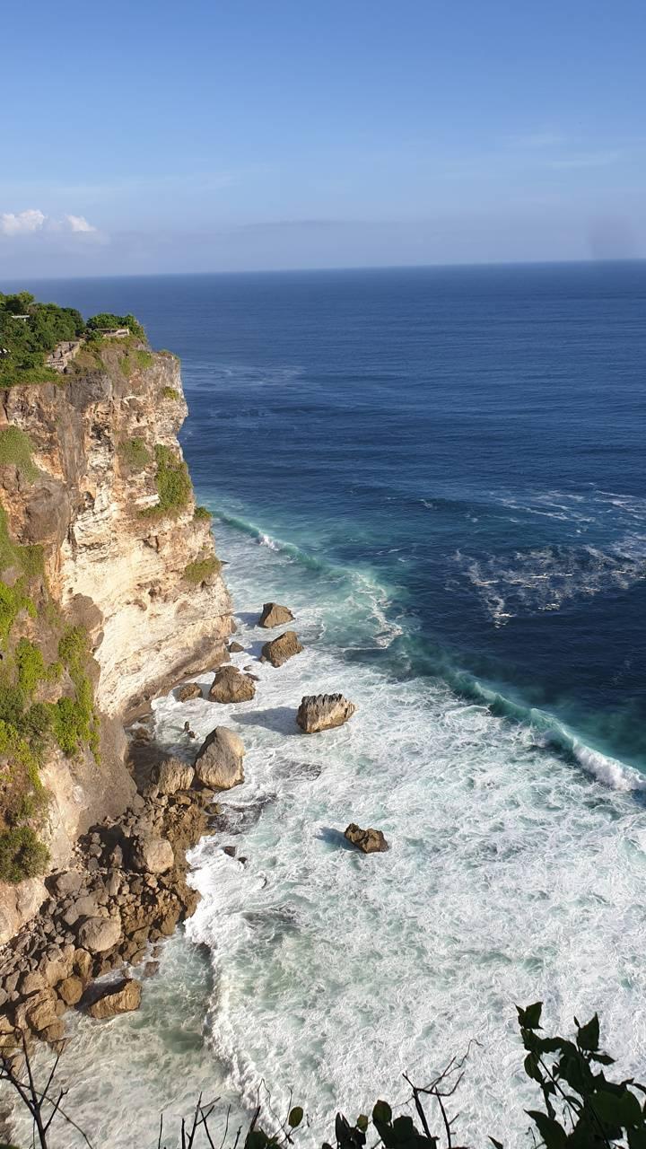 Balinese cliffside