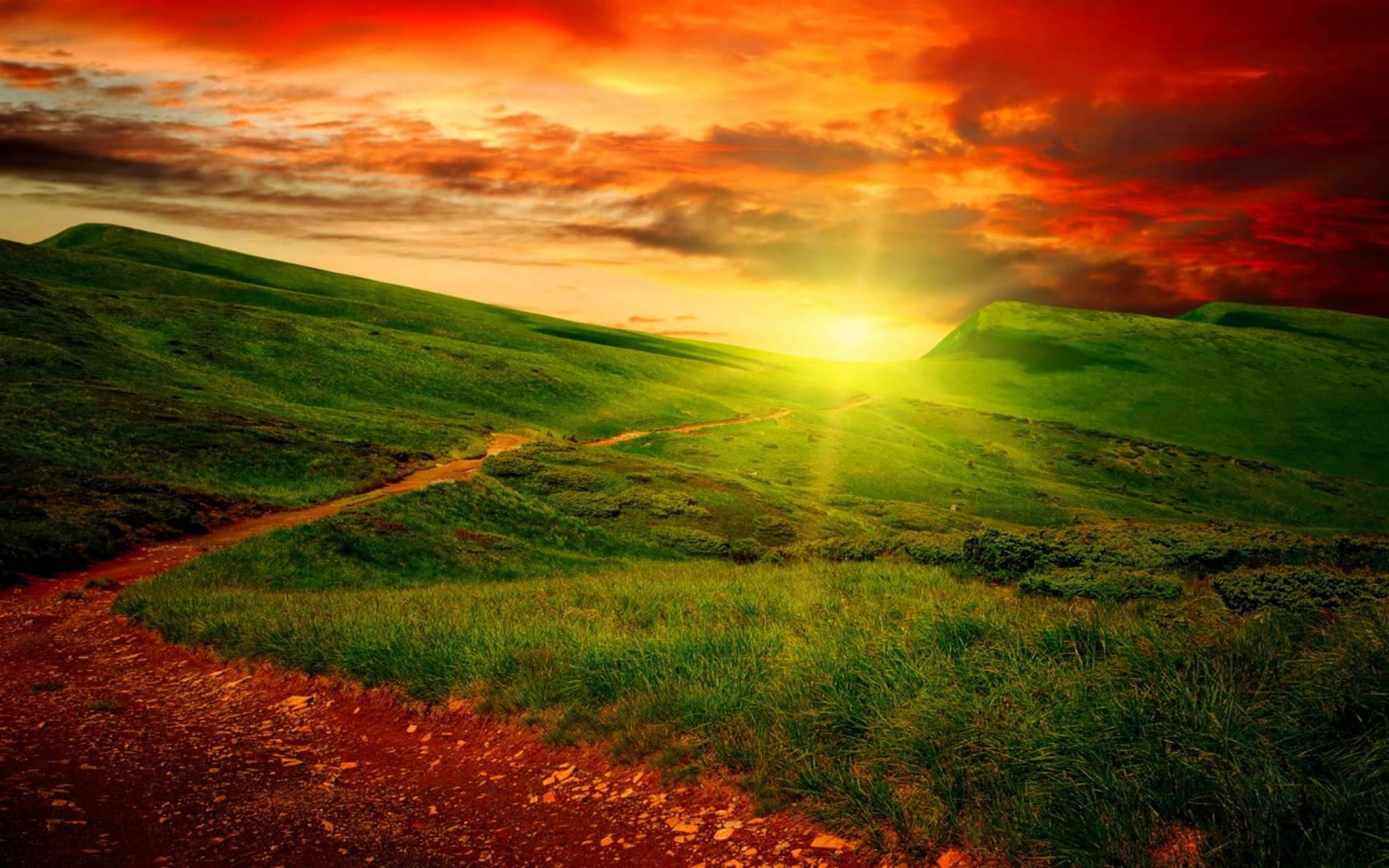 hd natures sunset
