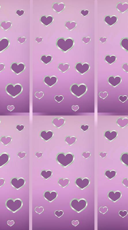 Silver Hearts Wallpapers Free By Zedge