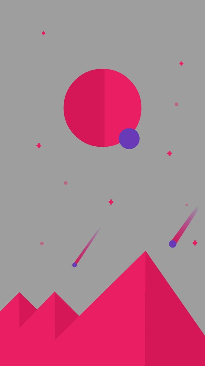 Pink Comets