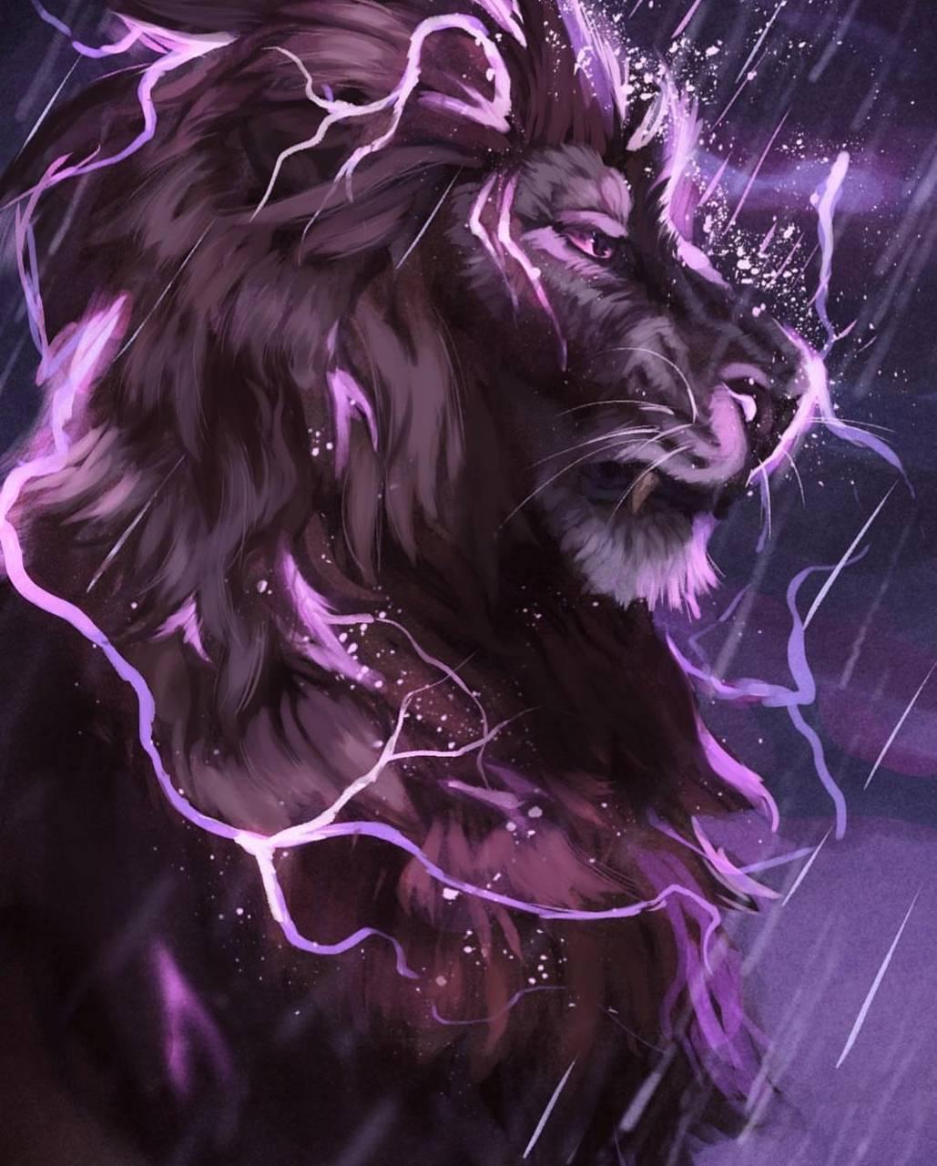 Lightning Lion Wallpaper By Skitter122 90 Free On Zedge